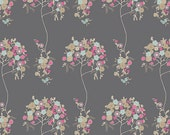 Tree Fleur Sombre CHE-8806 - CHERIE by Frances Newcombe - Art Gallery Fabrics  - 1 yard