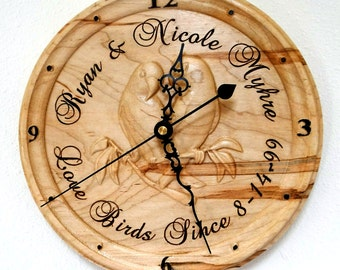 Personalized name clock 01