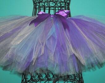 Purple, Silver and Light Blue Tutu - Frozen Tutu