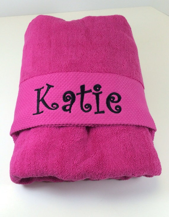Hot Pink Beach Towels