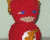 The Flash Amigurumi Doll
