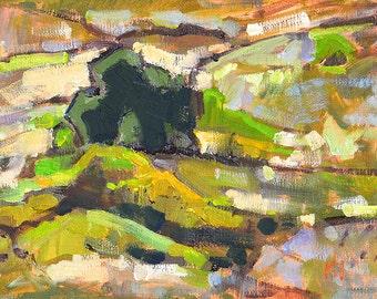 San Diego Landscape Painting- Balboa Park