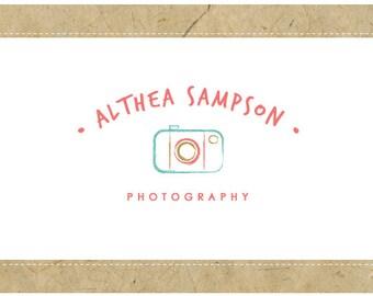 SALE - PreDesigned CUSTOM Vector Logo Design  - ALTHEA Logo