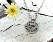 Grow Kindness, Kindness, Necklace
