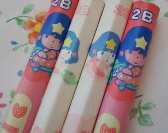 Twinkle Four Pencils.80s.Japan