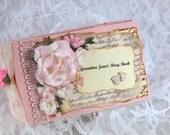 Baby Photo Album, Grandma Brag Book, Baby Memory Book, Cute Baby Girl Scrapbook, TP Mini Album,