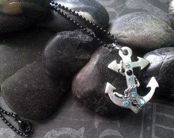 Sterling silver Anchor pendant
