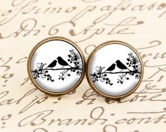 Love Birds - Stud Earrings