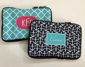 Personalized Laptop Sleeve- Design your Own Laptop case - Monogram iPad mini sleeve- Macbook Sleeve