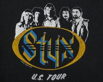 STYX 1979 tour TSHIRT