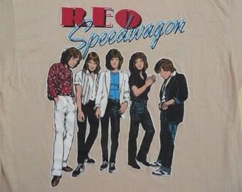REO SPEEDWAGON 1981 T SHIRT