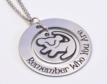 Lion King Personalized Jewelry Remember Who You Are
