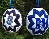 "The ""House Divided"" University of North Carolina Tarheels/Duke Blue Devils Collegiate Christmas Ornament"