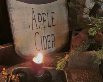 Apple Cider Trade sign primitive