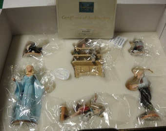 Pinnocchio Ornament Set   CHRISTMAS ORNAMENTS   Disney Collectibles  Price Reduction  On Sale Collectibles  Disney Collectibles