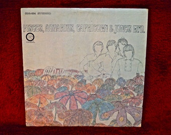 The MONKEES - Pisces, Aquarius, Capricorn & Jones LTD. - 1967 Vintage Vinyl Record Album