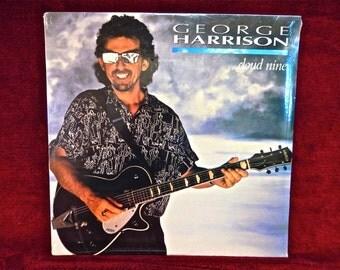 SEALed ..GEORGE HARRISON - Cloud Nine - 1987 Vintage Vinyl Record Album