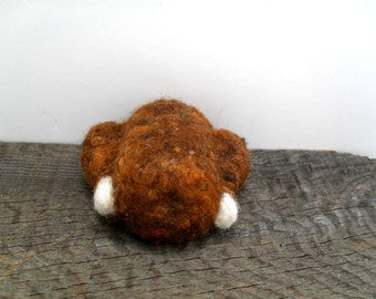 Catnip Cat toy cooked turkey needle felted