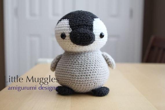 Amigurumi Feet Tutorial : Amigurumi Crochet Pattern - Pippin the Penguin from ...