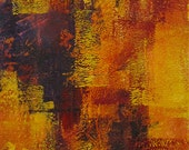 ORIGINAL Abstract Painting by Kelly, Vertical Art 10x30, Geometric Acrylic Art