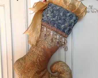Fabulous Holiday Stocking/Sold