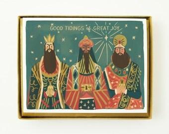 Three Kings 8pcs