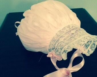 Heirloom Baby Bonnet