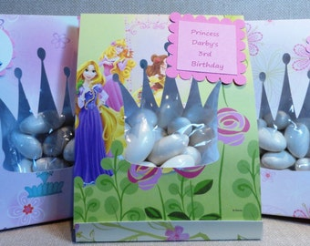 Disney Princess Party Favors In an easy to assemble do it yourself kit