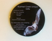 Promote Your Business Year Round Recycled CD Magnet Art