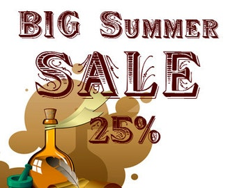 Only 3 Days Big SALE. SAVE 25% till Jul 23 12PM Coupon code SUMMER167