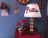 Phillies Baseball Lamp-New and unused table lamp for any Philly sports themed room or man cave