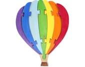 Balloon Puzzle and Rainbow Decor