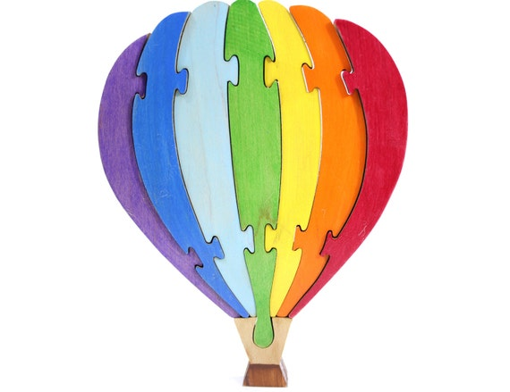 Balloon Puzzle and Rainbow Decor