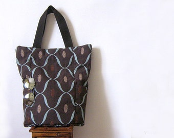 SEWING PATTERNS Big bag with outside pockets. Sewing Pattern. Tutorial PDF Bag Easy Sew