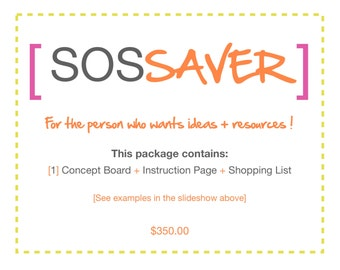 SOS SAVER e-design package