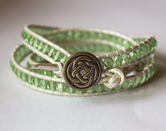 Celtic Knot Wrap Bracelet