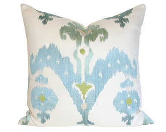 Raja Embroidery Sky Pillow Cover - (Single-Sided) 12x20