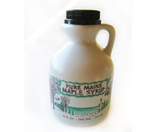 1 Pint Certified Organic Maine Maple Syrup