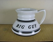 Big Guy Vintage Commuter Travel Coffee Mug No Spill Non Slip Cup