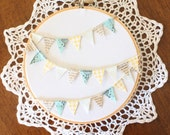 Welcome Spring Embroidery Hoop
