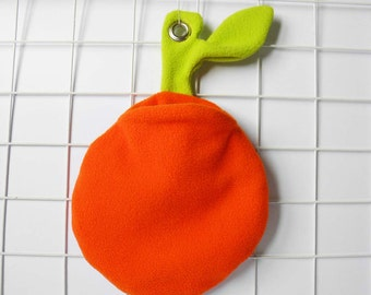 Sugar glider orange cage pouch