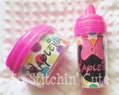 Personalized Mouse Sippy Cup & Snack Container