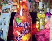 SALE ITEM:  Yago Sant' Gria Sangria Bottle Lamp