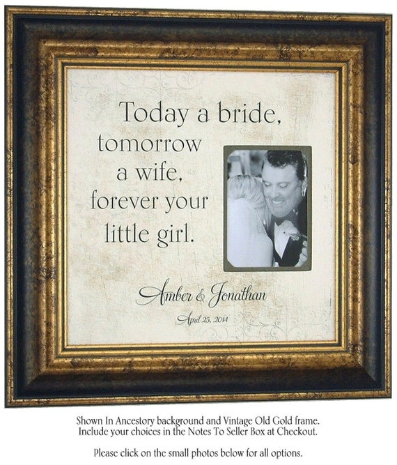 Special Wedding Gifts From Parents : Personalized Wedding Gift, Parents Thank You Gift, Personalized ...