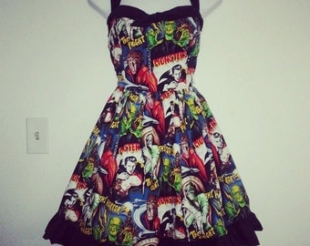 Classic Monster Dress II