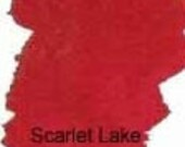 Peerless Transparent Watercolor Sheet - Scarlet Lake