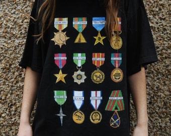 Shiny Shiny Medals T-shirt
