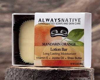 Mandarin Orange Lotion Bar