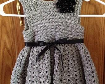 Toddler crocheted dress