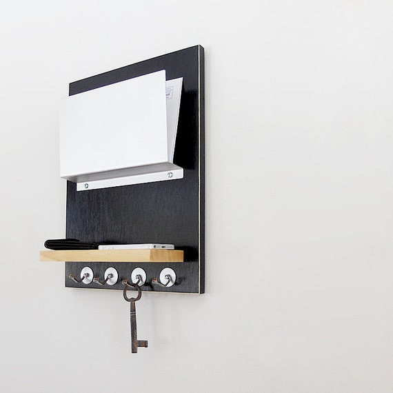 for him organizer modern wall mount organization with key. Black Bedroom Furniture Sets. Home Design Ideas